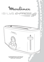 Moulinex Isilys Express User Manual