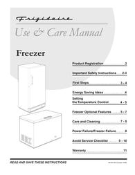 Frigidaire GLFH21F8HW User Manual