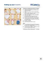 Lastolite Cubelite LL LR4886 Leaflet