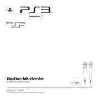 Speed-Link STARLET Microphone Set for PS3 SL-4470-SBK-02 Data Sheet
