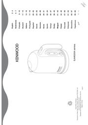 Kenwood Home Appliance Kettle cordless Kenwood Chilli red 0WSJM03102 Data Sheet