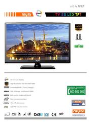 MyTV TE22 Leaflet