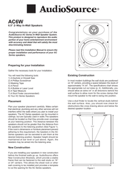 AudioSource AC6W User Manual