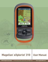 MiTAC MAGELLAN EXPLORIST 310 User Manual