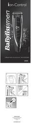 BaByliss E880E Data Sheet