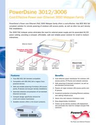 Microsemi 3006 PD-3006-XX Leaflet