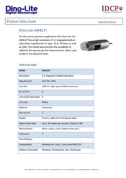 Dino-Lite AM413T Data Sheet