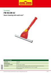 WOLF-Garten FW-M/ZM 02 3907000 Leaflet
