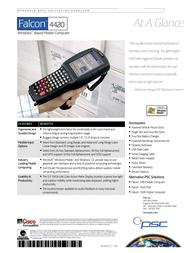 PSC 4420 Leaflet