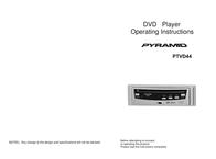 Pyramid Car Audio PDVD44 User Manual
