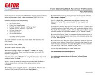 Gator Cases Stereo System FS4 User Manual