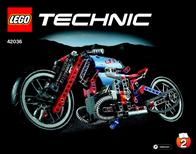 Lego Technic LEGO® TECHNIC 42036 STRAßENMOTORRAD 42036 User Manual