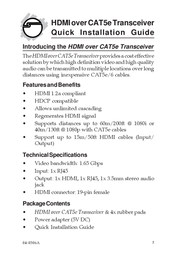 Siig CE-H20411-S1 User Manual