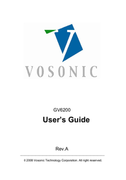 Vosonic GV6200 User Manual