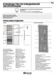 Bauknecht KGNF 20 P A3+ 0D IN User Manual
