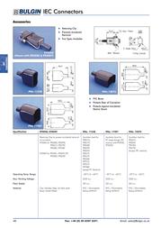 Eska Bulgin Protective cap 12075 Black 1 pc(s) 12075 Data Sheet