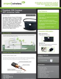 Amped Wireless APC25EX Leaflet