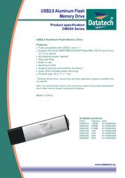 Datatech 2GB USB 2.0 Flash Drive DMS0200 Leaflet