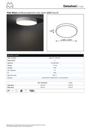 Modular Flat Moon 11830109 Data Sheet