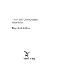 Handspring 180 User Manual