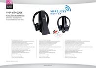 Vieta Audio VHP-WT400BK Leaflet
