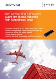 Option iCON 505M GI1505-11563 Leaflet