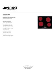 Smeg SE660X1 Leaflet