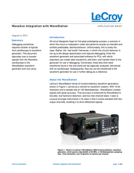Lecroy WAVEACE 1012 2-channel oscilloscope, Digital Storage oscilloscope, WaveAce 1012 Information Guide