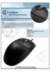 Accuratus MOUAC3331-BLK Leaflet
