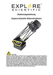Explore Scientific Ultra Light Dobsonian 0116925 Data Sheet
