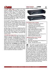 TV One 1T-C2-250 Leaflet