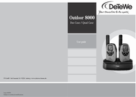 DeTeWe Outdoor 8000 Quad Case 208048 Data Sheet