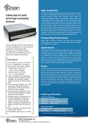 Qsan Technology AegisSAN F300Q F300Q-D316 Leaflet