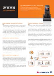 LG-Ericsson GDC-450H Leaflet