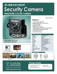 Clover Technologies Group HDC042 Leaflet