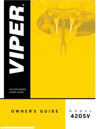 Viper 4205V Owner's Manual