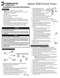 Intermatic EJ351 Leaflet