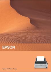 Epson DFX-5000+ C11C117041GB Справочник Пользователя
