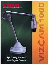 Canon VIZCAM 1000 A40-0002302 Owner's Manual