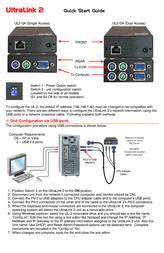 Ultralink Network Card UL2-DA User Manual