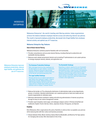Websense Enterprise, 700 users, 1 Year WS-XXX00700CP12 Leaflet