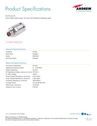 Andrew R5PNM-PS User Manual
