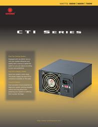 CoolMax CTI-500B Leaflet