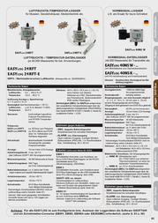 Greisinger EASYLog 24RFT Temperature Data Logger 600668 Data Sheet