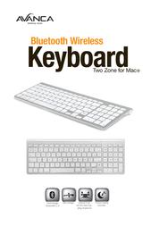 Avanca Two-zone for Mac AVKB-T00 Leaflet