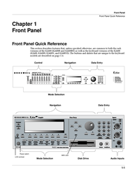 Kurzweil k2600 Reference Guide
