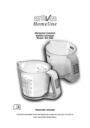 Silva Homeline SILVA BW 3000 WEISS MESSBECHERWAAGE 890027 User Manual