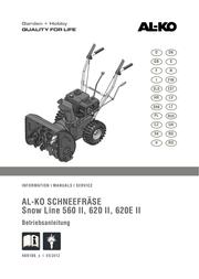 AL-KO SnowLine 560 II 112 933 User Manual