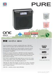 Pure ONE Mini VL-61203 Leaflet