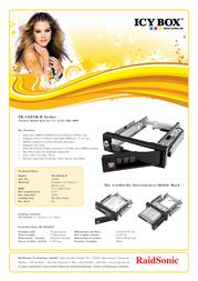 ICY BOX IB-168SK-B 16800 Leaflet